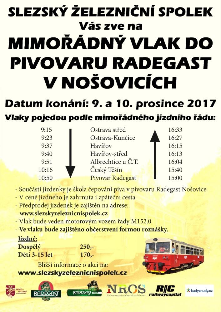 leták Radegast 9.12 10.12.