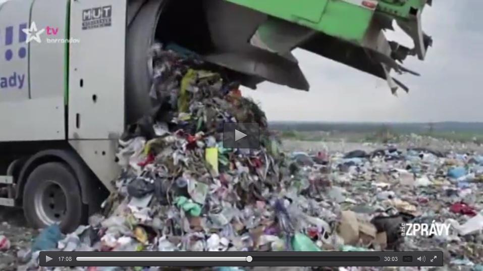 odpad odpady Rychvald kauza protest Zastupitelé Rychvald