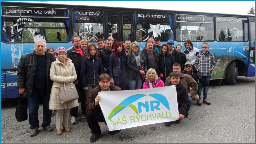 Projížďka mimořádným vlakem po OKD účastníky z Rychvaldu nadchla