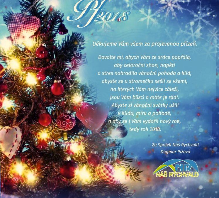 Klidné prožití svátků a jen to nejlepší v novém roce