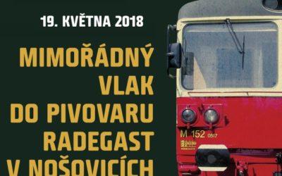 Výlet do Pivovaru Radegast v Nošovicích 19. května