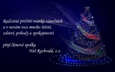 Šťastné a veselé svátky přeje spolek Náš Rychvald