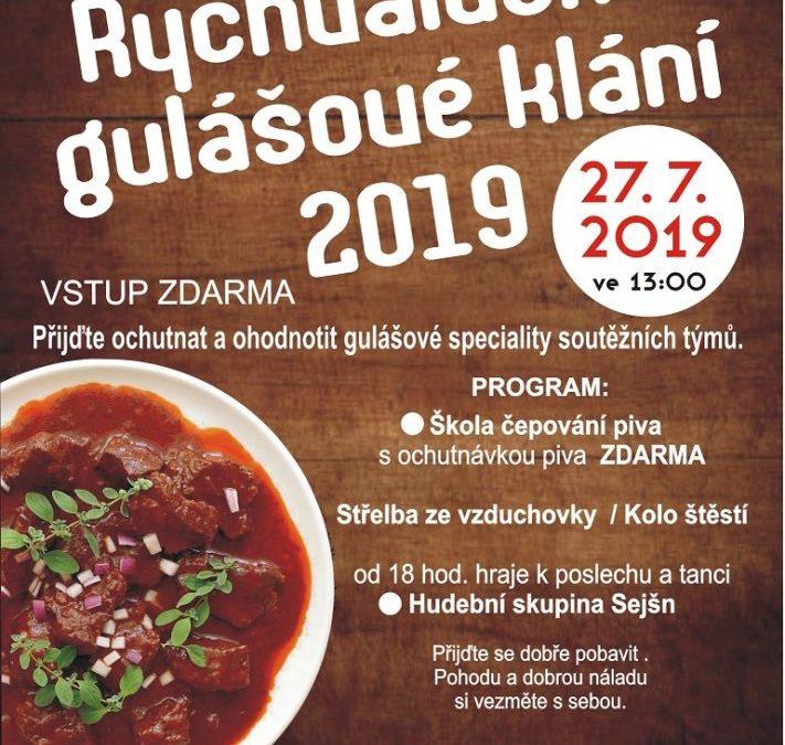 Rychvaldské gulášové klání 2019
